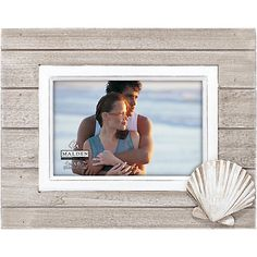 Display your favorite memories in this Malden picture frame.  Heartwarming and…