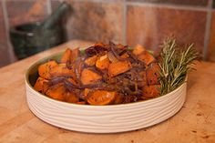 Pan Fried Sweet Potatoes Recipe With Onions   Chef Jen Arricale