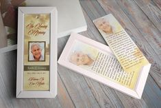 Forever Funeral Bookmark Template  @creativework247