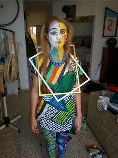 Art, costume, surreal, painting