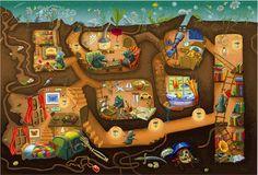 Iryna Bodnaruk - professional children's illustrator, view portfolio
