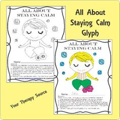 All About Staying Calm Glyph