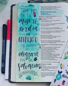 """304 Me gusta, 3 comentarios - Diario Bíblico (@diariobiblico) en Instagram: """"Pero yo en Su misericordia confío. .. Que el nuestros corazones puedan alegrarse diariamente en Su…"""""""