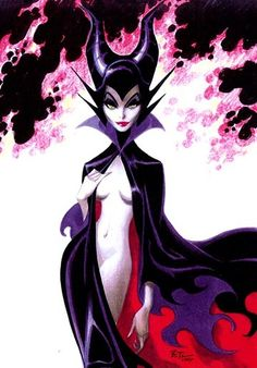 Maleficent by Bruce Timm ✤ || CHARACTER DESIGN REFERENCES | Find more at https://www.facebook.com/CharacterDesignReferences if you're looking for: #line #art #character #design #model #sheet #illustration #expressions #best #concept #animation #drawing #archive #library #reference #anatomy #traditional #draw #development #artist #pose #settei #gestures #how #to #tutorial #conceptart #modelsheet #cartoon #female #lady #woman #girl || ✤