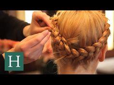 Beauty Tutorial: How To Do A Milkmaid Braid - YouTube