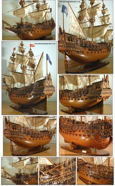 Admiralty Ship Models Ltd Sovereign of the Seas