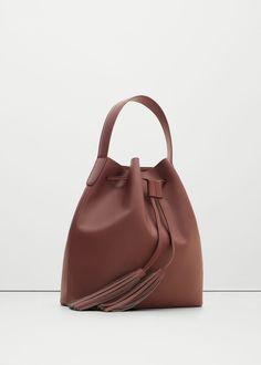 Tassel hobo bag - Bags for Woman | MANGO USA