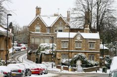 Clock House on the corner of Empingham and Casterton Roads viewed from Scotgate - Stamford at .