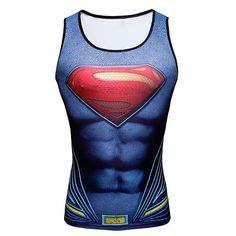 1c6b34866fc90 Superheroes   Avengers Men Tank Tops Shirt Bodybuilding
