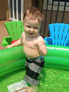 My little swimmer!