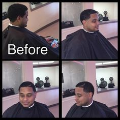 @thenextbarber_king Before and After taper  #iCape #barber #barbershop #hairstylist #salon