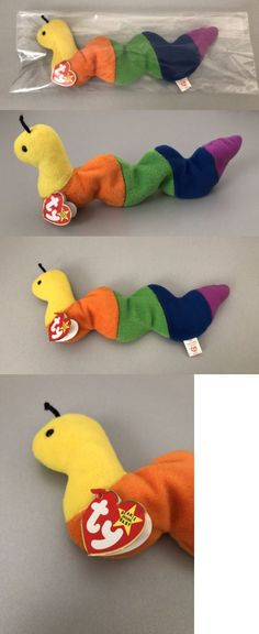 f0a415cc438 Retired 440  Ty Original Beanie Baby Inch Worm Retired Style 4044 Rare Tag  Errors Pvc Pellets -  BUY IT NOW ONLY   479 on  eBay  retired  original   beanie ...