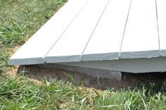 How to build a ramp for your shed