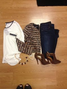 Casual #ootd styled by me! find it all at www.vampedboutique.com