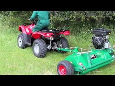 (6) Wessex ATV AF 120 - Heavy Duty Flail Mower - YouTube