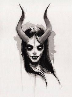 she - fine art print - 9x12