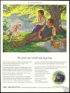 banking ads Vintage Money, Insurance and - banking Vintage Advertisements, Vintage Ads, Banks Advertising, Banks Ads, Insurance Ads, White Art, 1950s, Money, Picnic