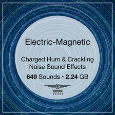 Electric-Magnetic sound clip collection with a variety of zaps, Jacob's ladder clips, buzzing, resonant magnetism and more in 649 files in over 2 GB of audio. with full editor-friendly metadata. Noise Sound, Sound Clips, Jacob's Ladder, Sound Effects, Libraries, Editor, Magnets, Electric, Audio