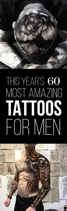Best Tattoo Trends - This Year's 60 Most Amazing Tattoo Designs for Men | TattooBlend...