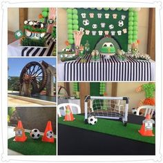 "Photo 6 of 16: Soccer / Birthday ""SOCCER BIRTHDAY PARTY""   Catch My Party"