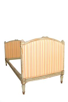 Re-cover in a soft linen for a beautiful day bed in a nursery or bedroom  19th Century French Day Bed