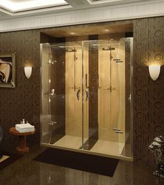 MAAX - PurfectKurv Alcove Shower Door  www.maax.com