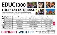 Class for Fall of 2017 at #LSCKingwood - EDUC 1300 First Year Experience #StartCloseGoFar