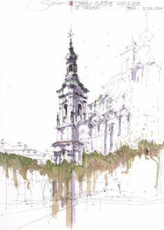 St Nikolaus, Prag, CZ   by JochenSchittkowski