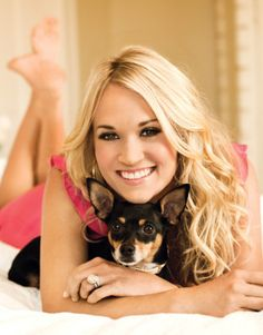 "Carrie Underwood's Exclusive Interview With ""Modern Dog"" Magazine"