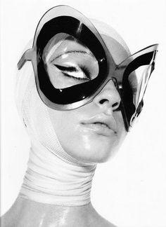 Yuliana Dementyeva photographed by Mario Sorrenti, styled by Carine Roitfeld for Vogue Paris September 2010 Mario Sorrenti, Pierre Cardin, Steam Punk, Space Fashion, Fashion Design, 3d Mode, Lauren Hutton, Carine Roitfeld, Terry Richardson