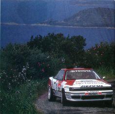 Carlos Sainz - Moya (Toyata Celica GT4) 1er Tour de Corse 1991 - L'Automobile juin 1991