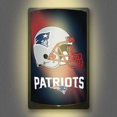 NFL New England Patriots MotiGlow Light Up Sign