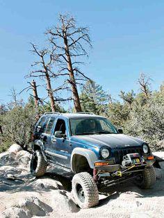 Jeep liberty sittin high