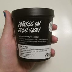 Lush Cosmetics Heaven is a place on earth with you.  Forever loving this vegan and cruelty free facial cleanser!