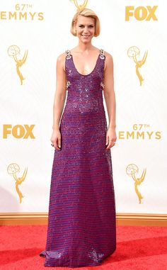 Claire Danes in Prada at the 2015 Emmys