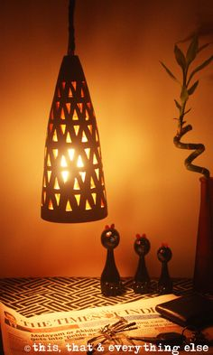Conical Pendant Light