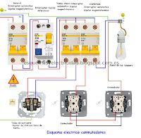 Esquemas eléctricos: Esquema electrico conmutadores