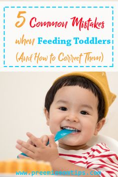Feeding toddlers is hard work. They can be picky eaters, or throw tantrums every now and then, and they don't care much for nutrition. Our son is a very sweet but when it's time to eat, we deal with serious issues. Parenting For Dummies, Parenting Issues, Parenting Toddlers, Parenting Articles, Parenting Classes, Parenting Quotes, Parenting Tips, Preemie Babies, Premature Baby