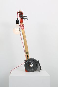 Ryan Gander | A Lamp made by the artist for his wife (Ninth attempt) (2013) | Artsy