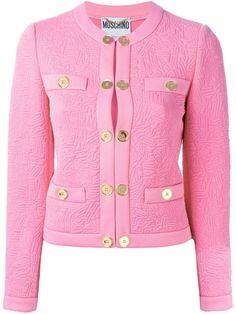 Women - Moschino Stitched Logo Jacket - Tessabit.com – Luxury Fashion For Men and Women: Shipping Worldwide