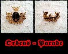 Broschen - *Ordensparade* Brosche 125-27+28 - ein Designerstück von raritaeten-kammerl bei DaWanda