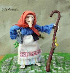 Julia Moiseenko HANDMADE: Баба Яга / Russian witch Baba Yaga