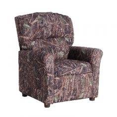 Magnolia Furniture Kids' Recliner - Conceal Green Camo - Mills Fleet Farm