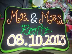 Hand painted sign sold on beccas little designs on facebook for $20