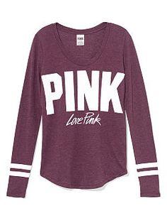 Bling Crewneck Tee - PINK - Victoria's Secret   Pink/Victoria ...