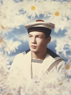 Pierre et Gilles - Le Marin (Philippe Gaillon), 1985. And that may have inspired Gaultier once or twice...