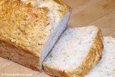 Farmgirl's Beyond Easy Cheddar & Dill Beer Bread