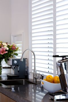 Choose the best window shutters. Buy Windows, Window Shutters, Kitchen, Blinds, Shades, Cooking, Kitchens, Cuisine, Cucina