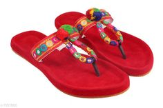 Flats Ethnic Synthetic Women's Footwear Material: Outer Material - Synthetic Sole Material - TPR UK/IND Size: IND -3  IND - 4 IND - 5 IND - 6 IND - 7 IND - 8 IND - 9 Description: It Has 1 Pair Of Women's Footwear Work: Embroidery Country of Origin: India Sizes Available: IND-8, IND-9, IND-10, IND-2, IND-3, IND-4, IND-5, IND-6, IND-7 *Proof of Safe Delivery! Click to know on Safety Standards of Delivery Partners- https://ltl.sh/y_nZrAV3  Catalog Rating: ★4.2 (1559)  Catalog Name: Femme Ethnic Synthetic Women's Footwear Vol 11 CatalogID_170893 C75-SC1071 Code: 012-1331865-994