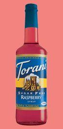 Torani syrup. Italian Sodas